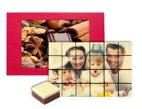 Chocola met foto bedrukken